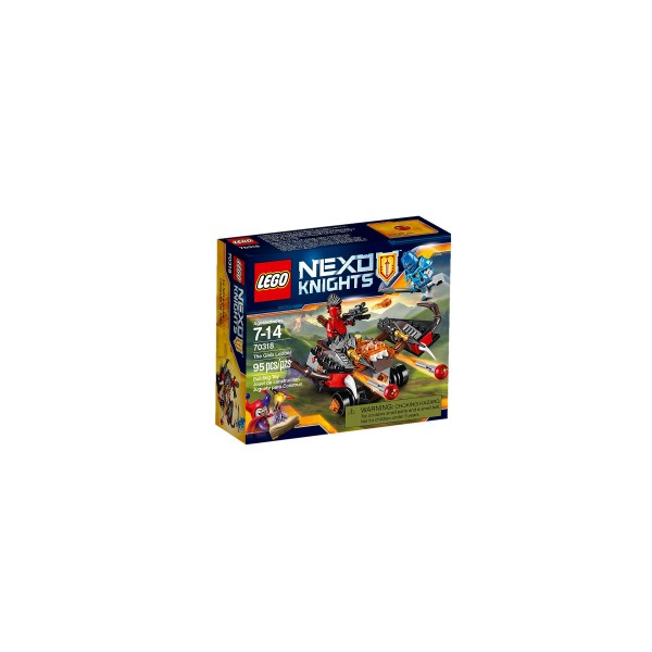 Lego 70318 Nexo Knights The Glob Lobber Construction Set