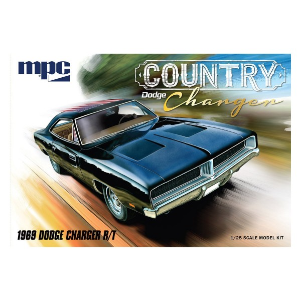MPC 878 1/25 1969 Dodge Charger R/T