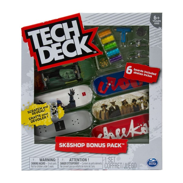 styles vary Tech Deck Sk8shop Bonus Pack