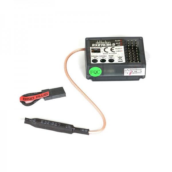 USA Walkera Part HM-NEW-V450D01-Z-04 Receiver RX2703H-D for V450D01 V450D03
