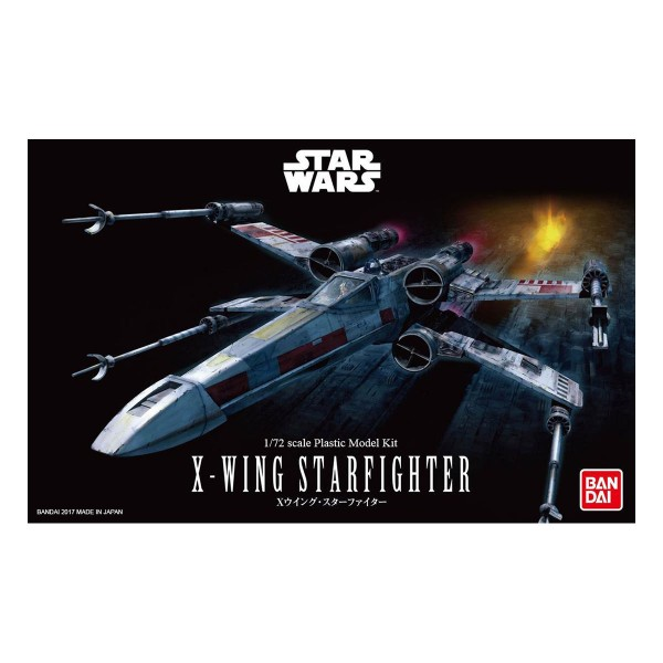 Bandai Star Wars 1/72 X-Wing Starfighter Model Kit