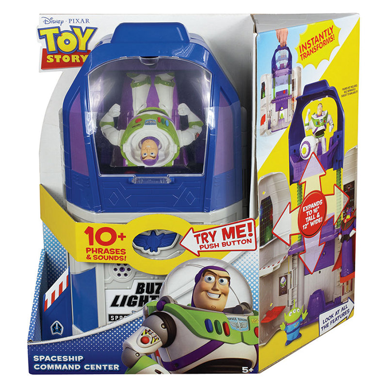 Toy Story 4 Toys : Disney pixar toy story quot buzz lightyear spaceship command