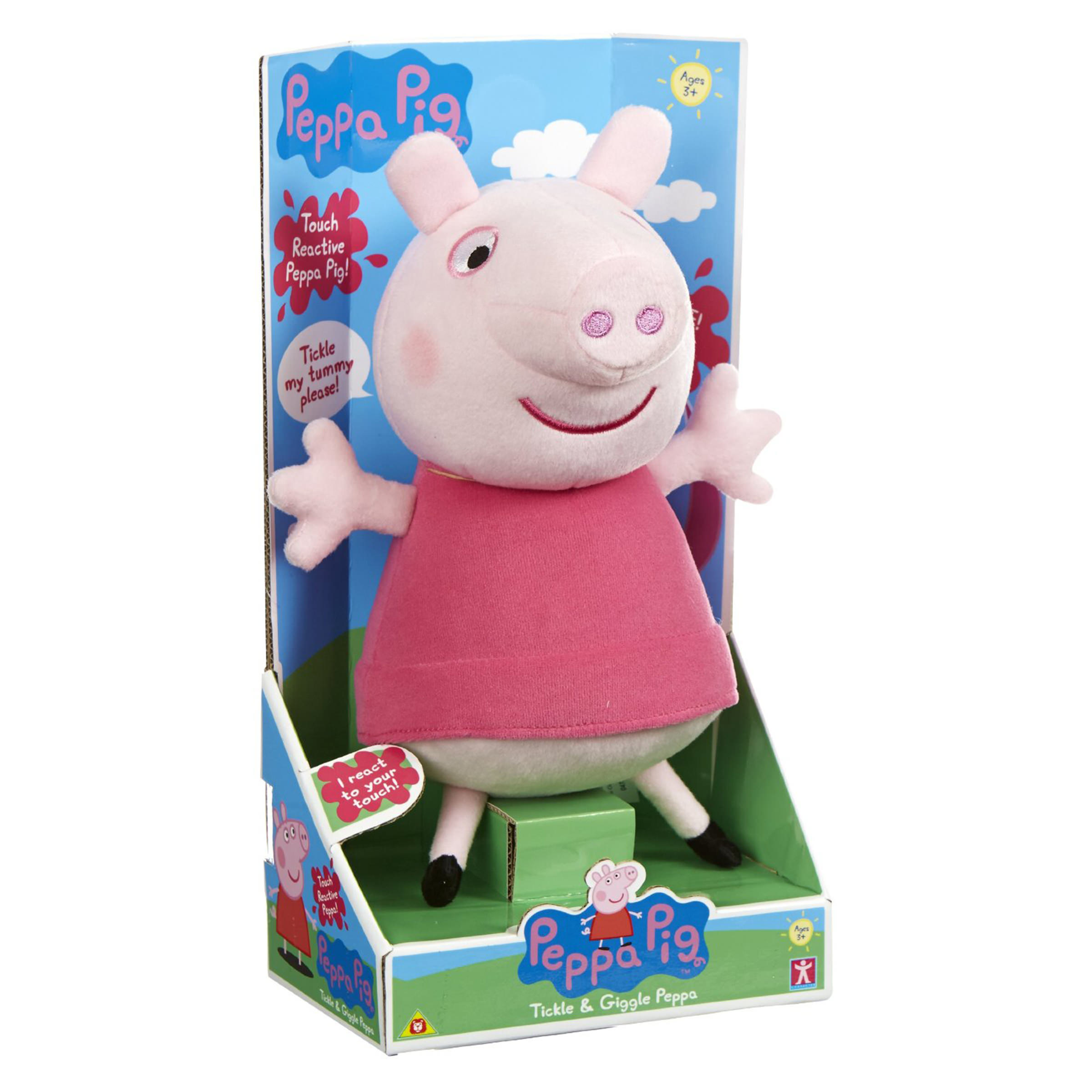 Toys For Bedtime : Peppa pig talking bedtime soft toy at hobby warehouse