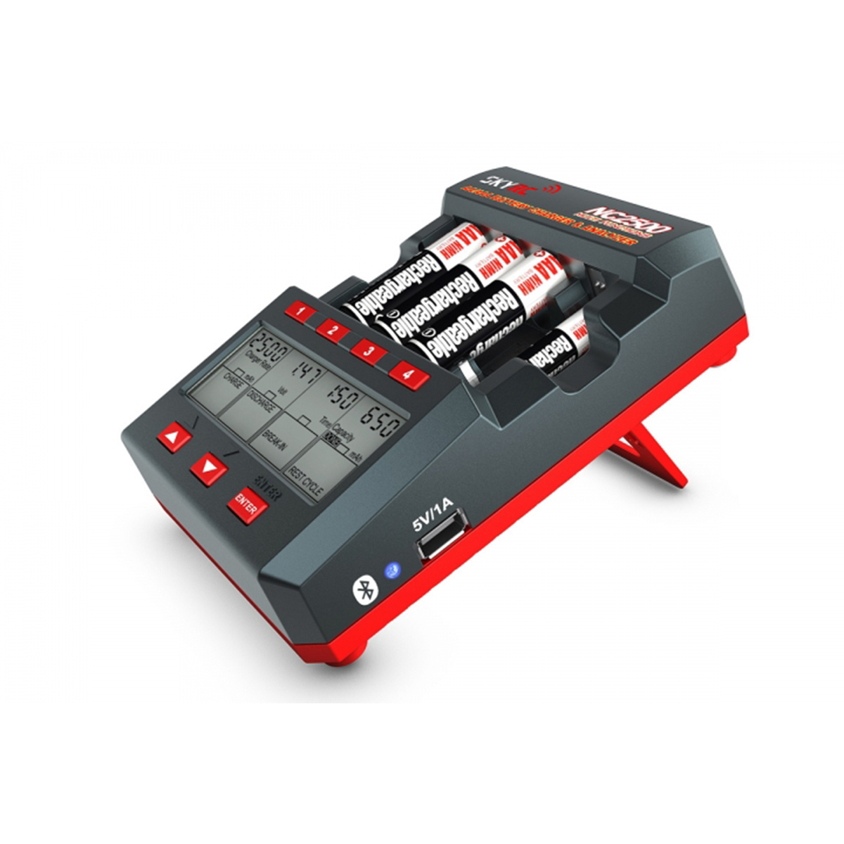 Skyrc Nc2500 Aa Aaa Nimh Battery Charger Amp Analyzer At