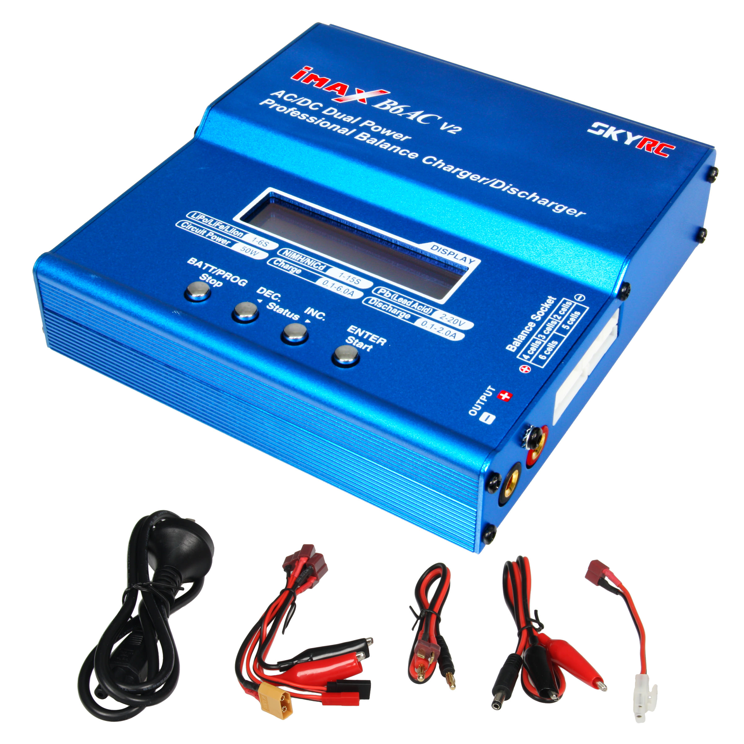 Skyrc Imax B6ac V2 Version 2 Digital Rc 3s Lipo Nimh Battery Balance Circuit Also Alkaline Charger As Well At Hobby Warehouse
