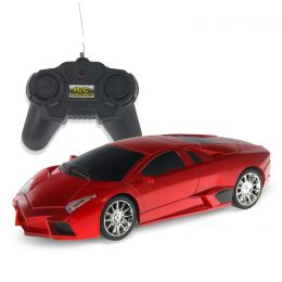 Remote Control Cars >> Fast Car Lf08 Red Lambo 1 24 Scale Rc Car