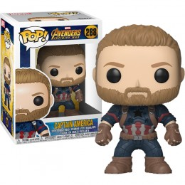 Funko Avengers 3: Infinity War - Captain America Pop! Vinyl Figure