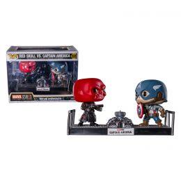 Funko Captain America - Captain America & Red Skull Movie Moments Pop Vinyl