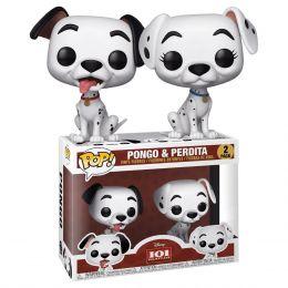 Funko 101 Dalmatians - Pongo & Perdita Pop! Vinyl Figure 2-Pack