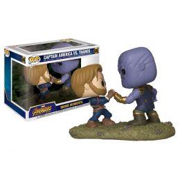Funko Averngers 3: Infinity War - Captain America vs Thanos Movie Moments Pop! Vinyl Figure