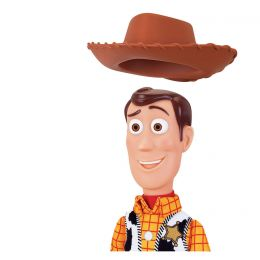 "Toy Story 4 Sheriff Woody Deluxe Talking 16"" Doll Action ..."