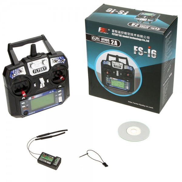 Flysky FS-i6 6CH 2 4GHz with iA6 Telemetry Transmitter and Receiver Mode 2