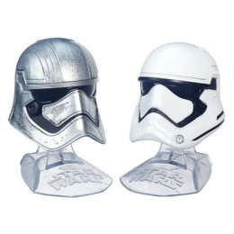 Star Wars The Force Awakens Black Series Diecast Helmets - Captain Phasma & First Order Stormtrooper