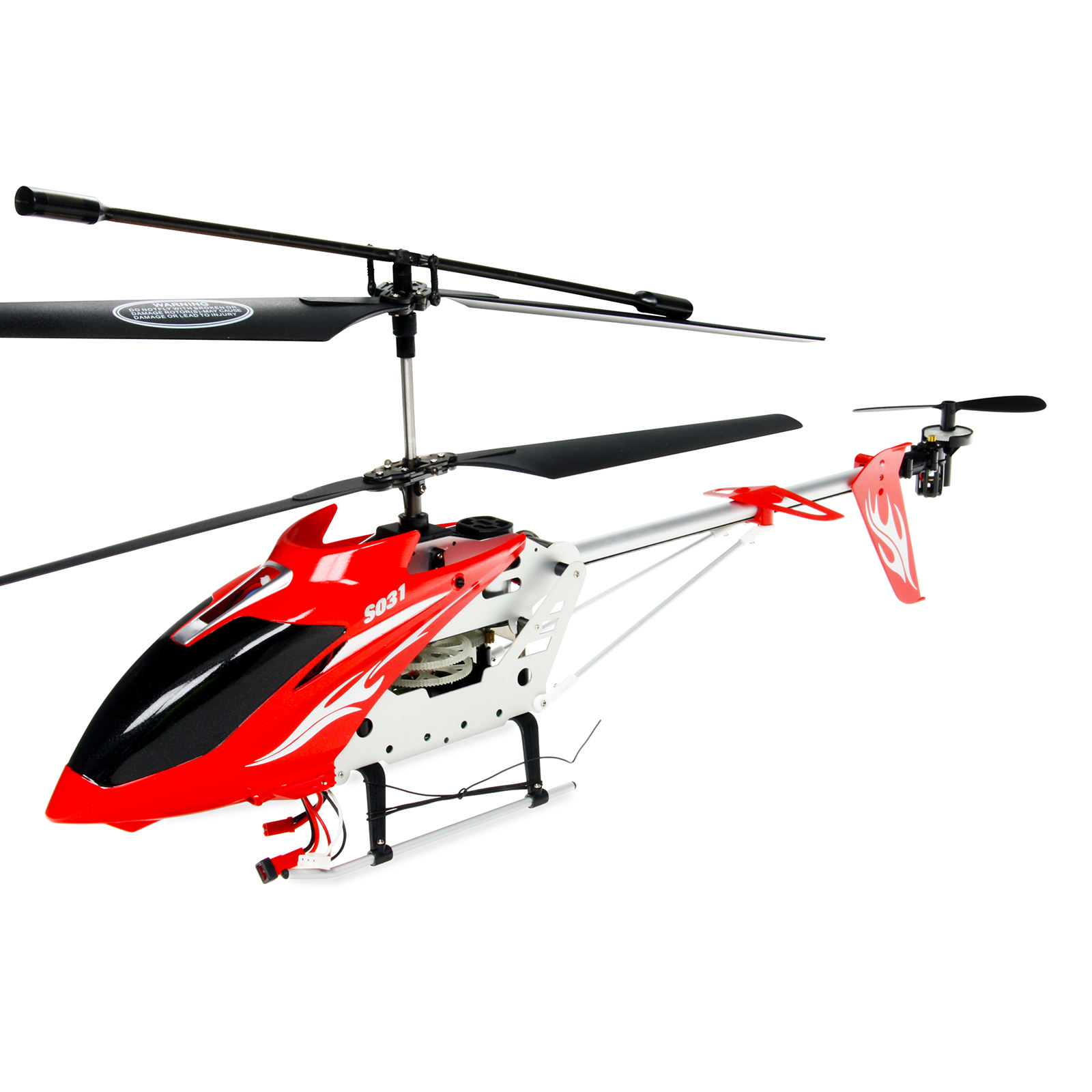 Syma s031g red rc helicopter at hobby warehouse for Helicoptere syma