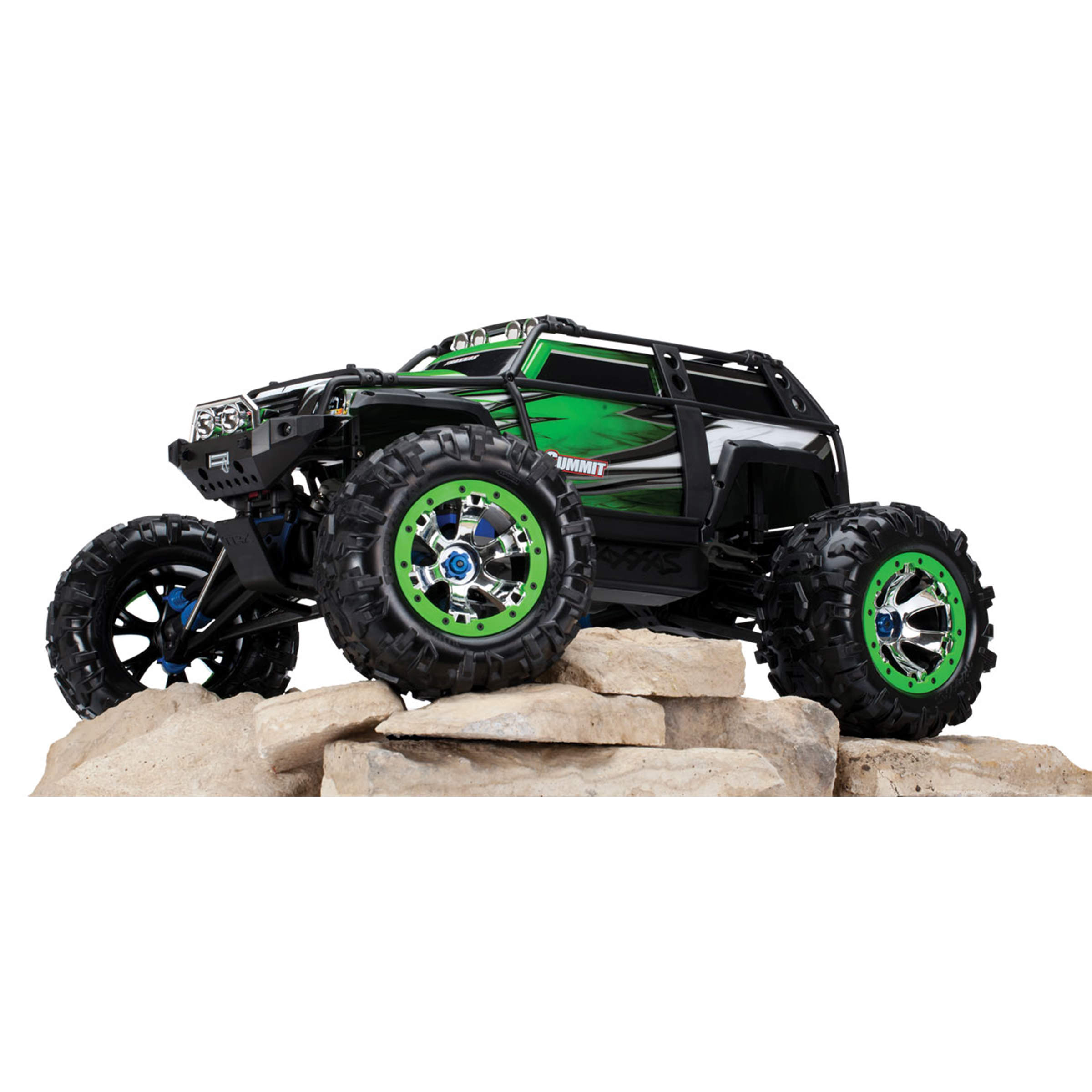 Traxxas 5607 Summit Green Rc Truck At Hobby Warehouse