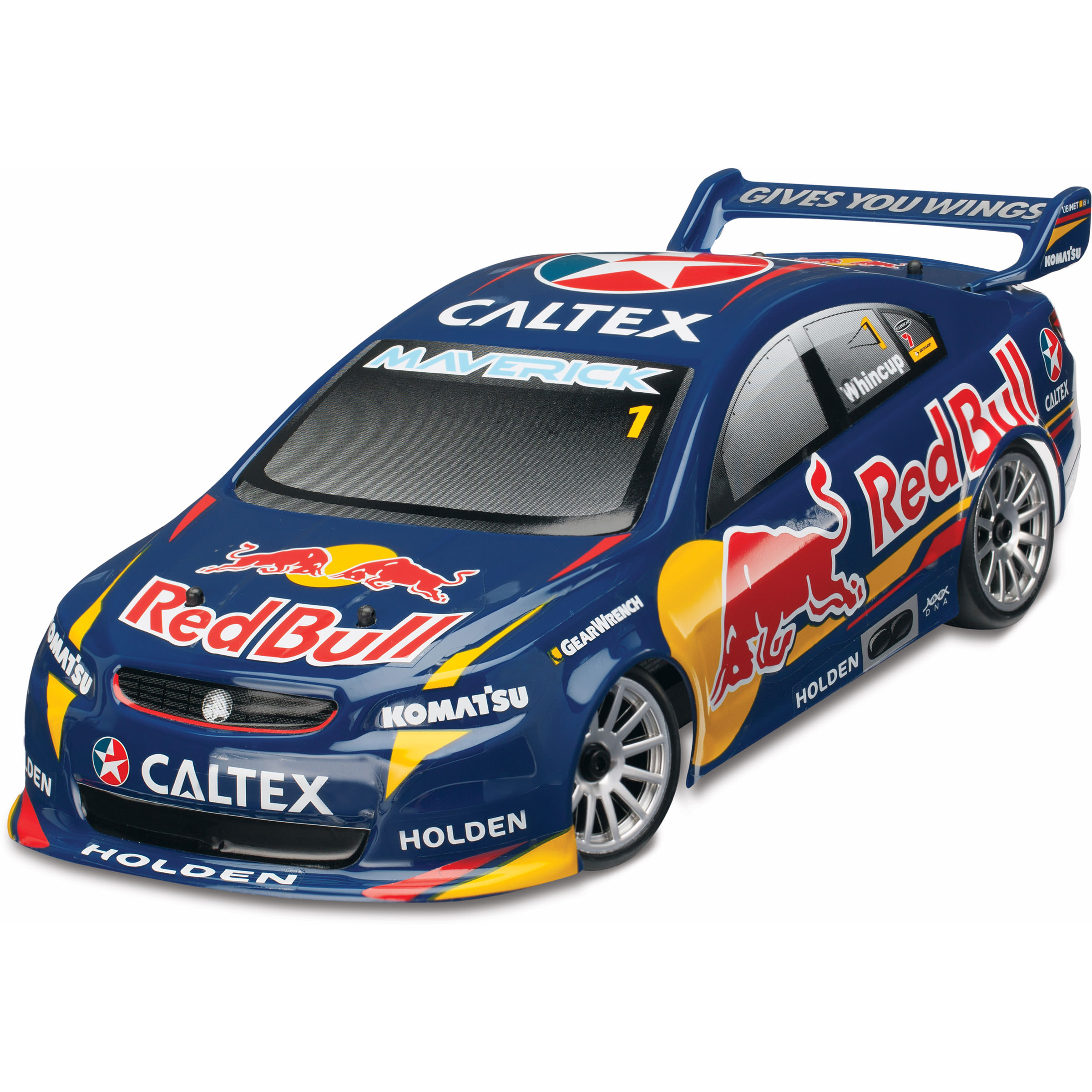 Traxxas Red Bull Racing modore 1 2 4Ghz 4WD 1 18 Scale Whincup RC Car