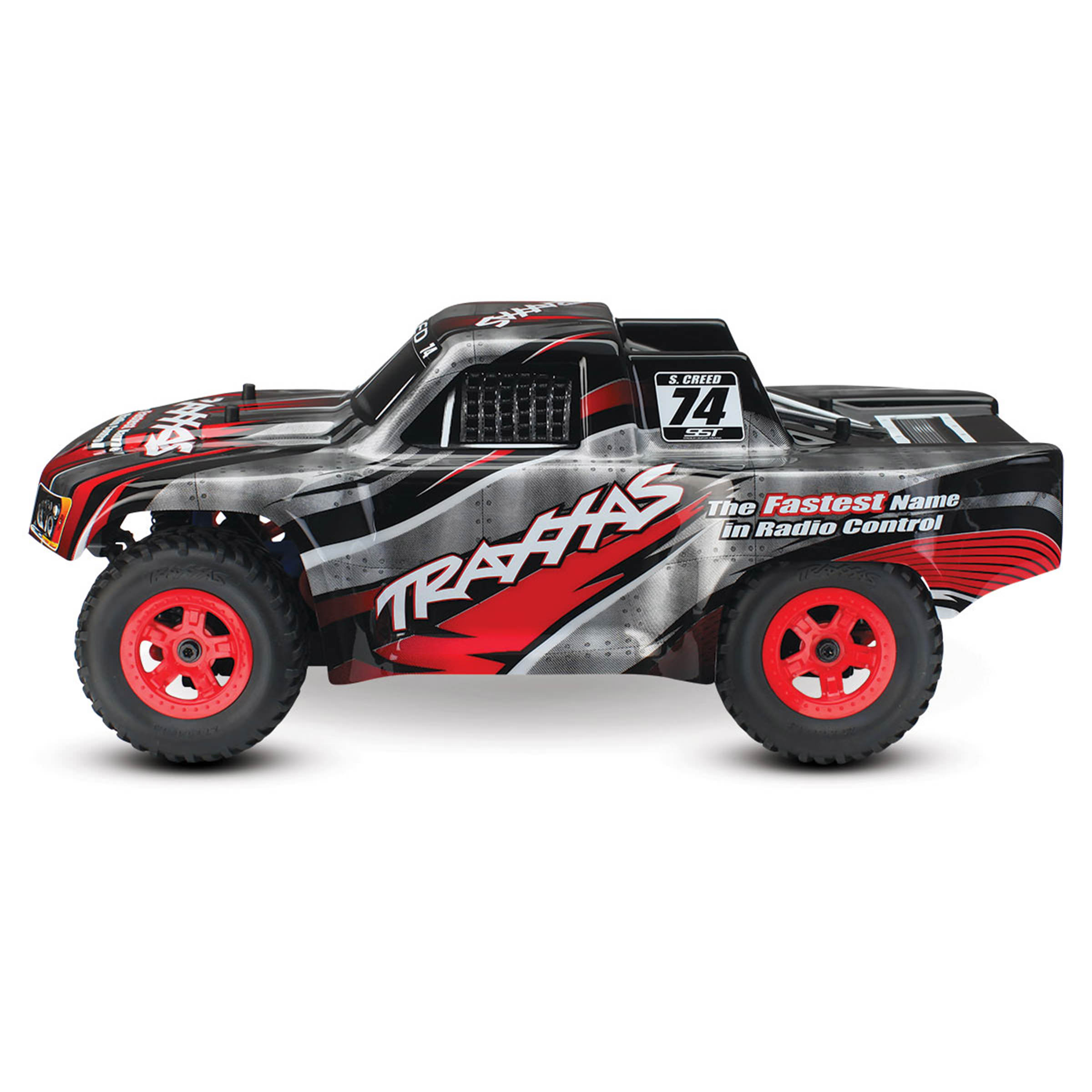 Traxxas 76044 1 Latrax Sheldon Creed Rc Stadium Truck Red