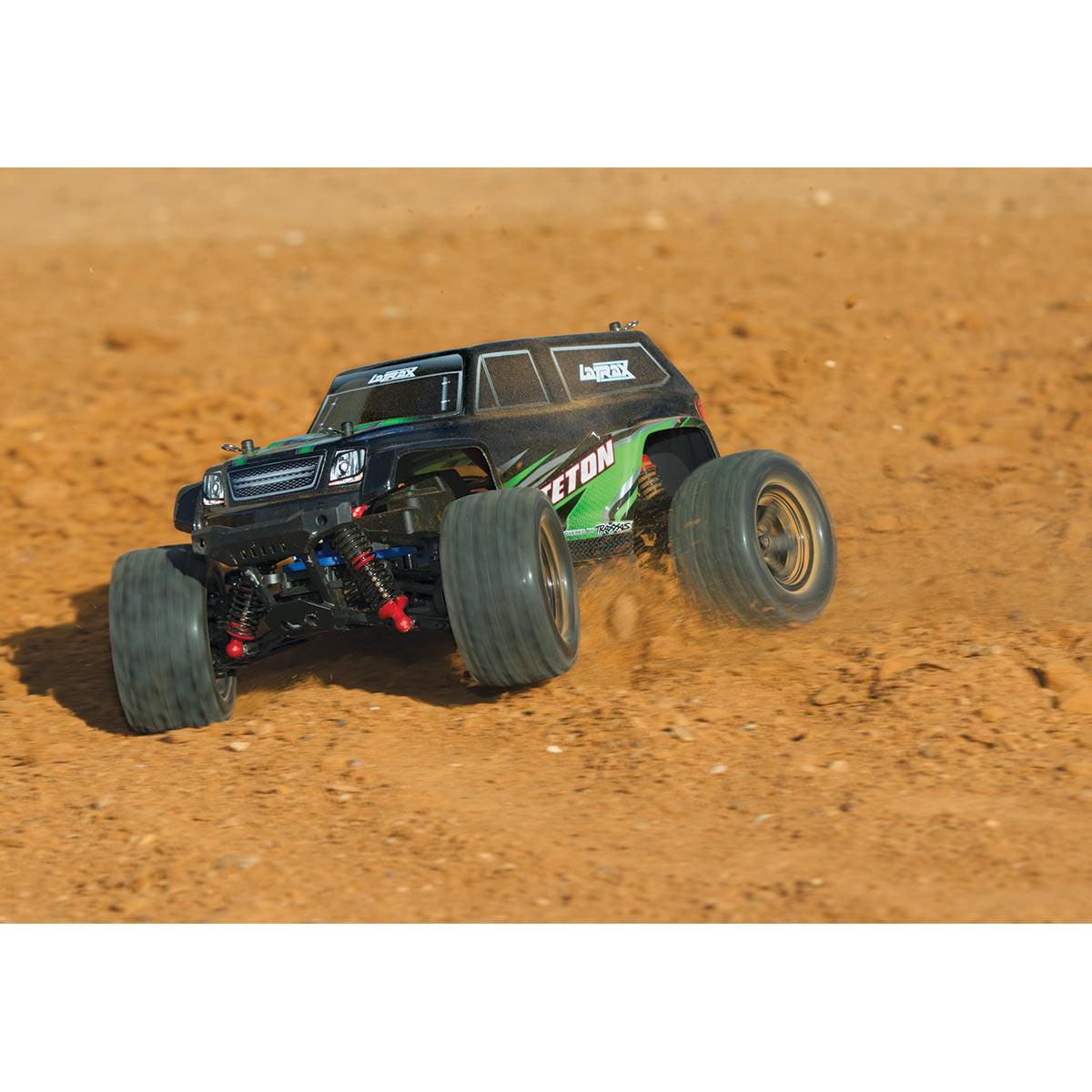 Traxxas 76054 Latrax Teton Green Rc Monster Truck At Hobby