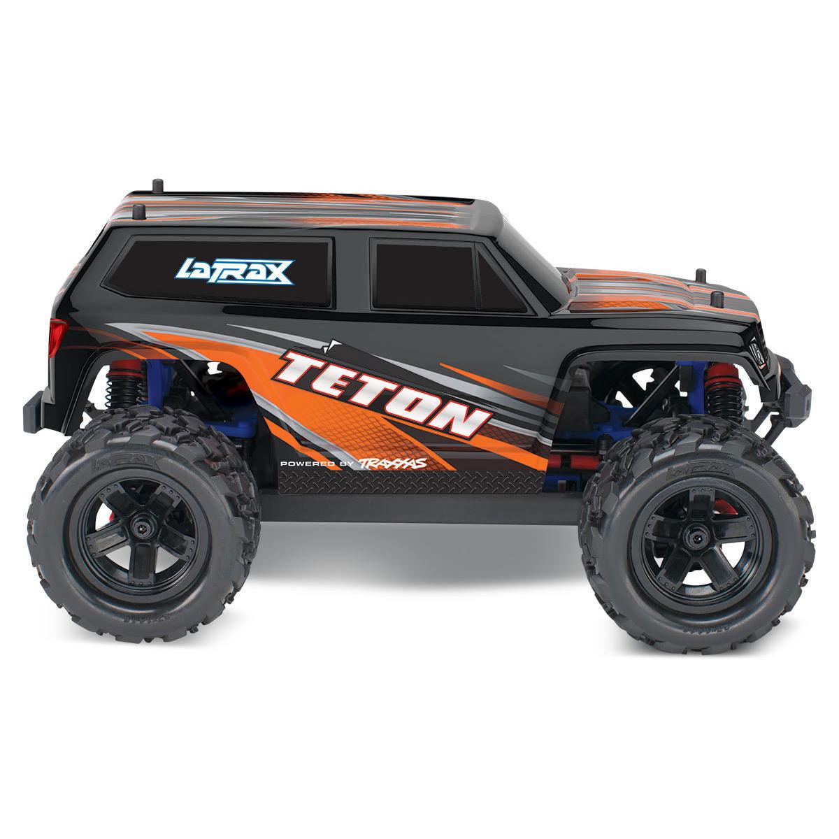 Traxxas 76054 Latrax Teton Orange Rc Monster Truck At