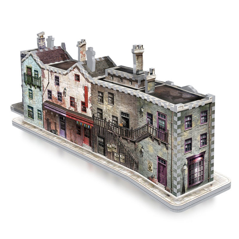 Wrebbit Hogwarts Diagon Alley 3d Puzzle At Hobby Warehouse