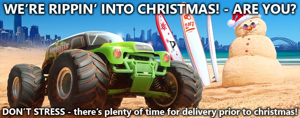 Its an Aussie Christmas at Hobby Warehouse!