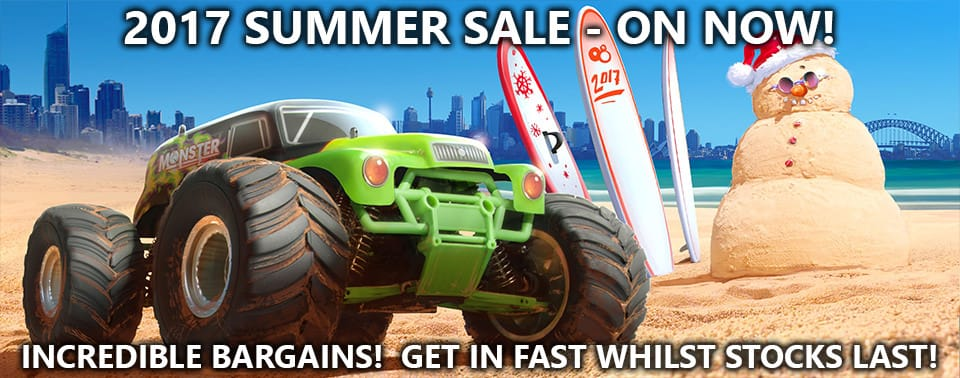 2017 Summer Sale - NOW ON WHILST STOCKS LAST!