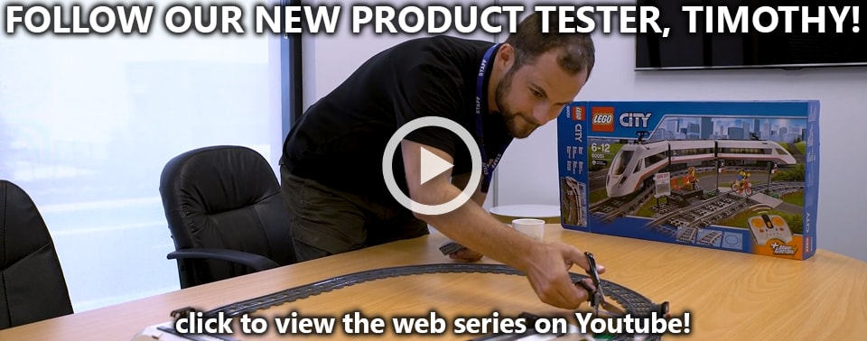 Introducing Timothy - Our New Product Tester (Watch all 7 Episodes!)