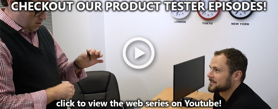 Introducing Timothy - Our New Product Tester (Watch all 8 Episodes!)