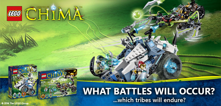 LEGO Legends of Chima at Hobby Warehouse