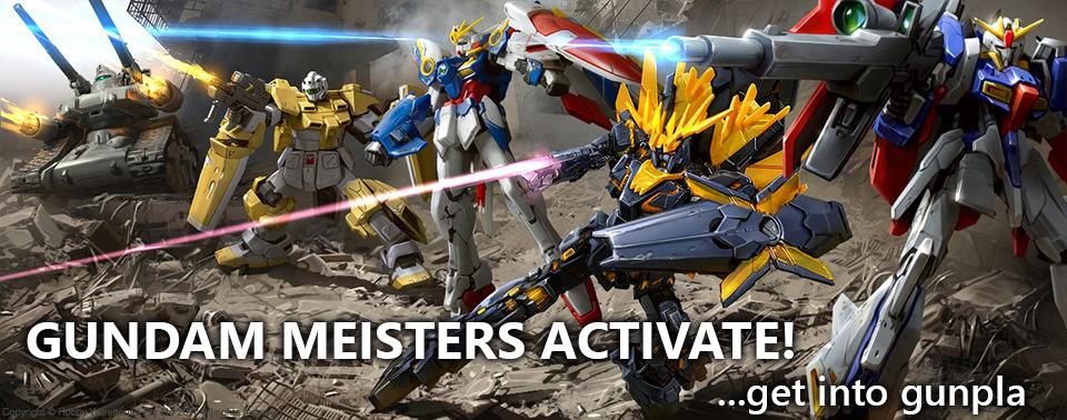 Gundam, Now at Hobby Warehouse!