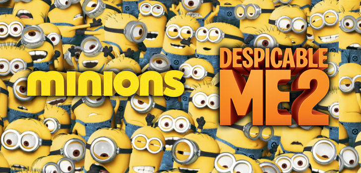 Minions and Despicable Me at Hobby Warehouse