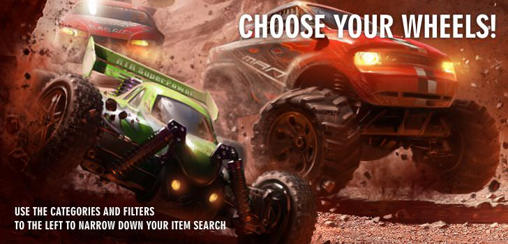 RC Remote Control Cars  at Hobby Warehouse