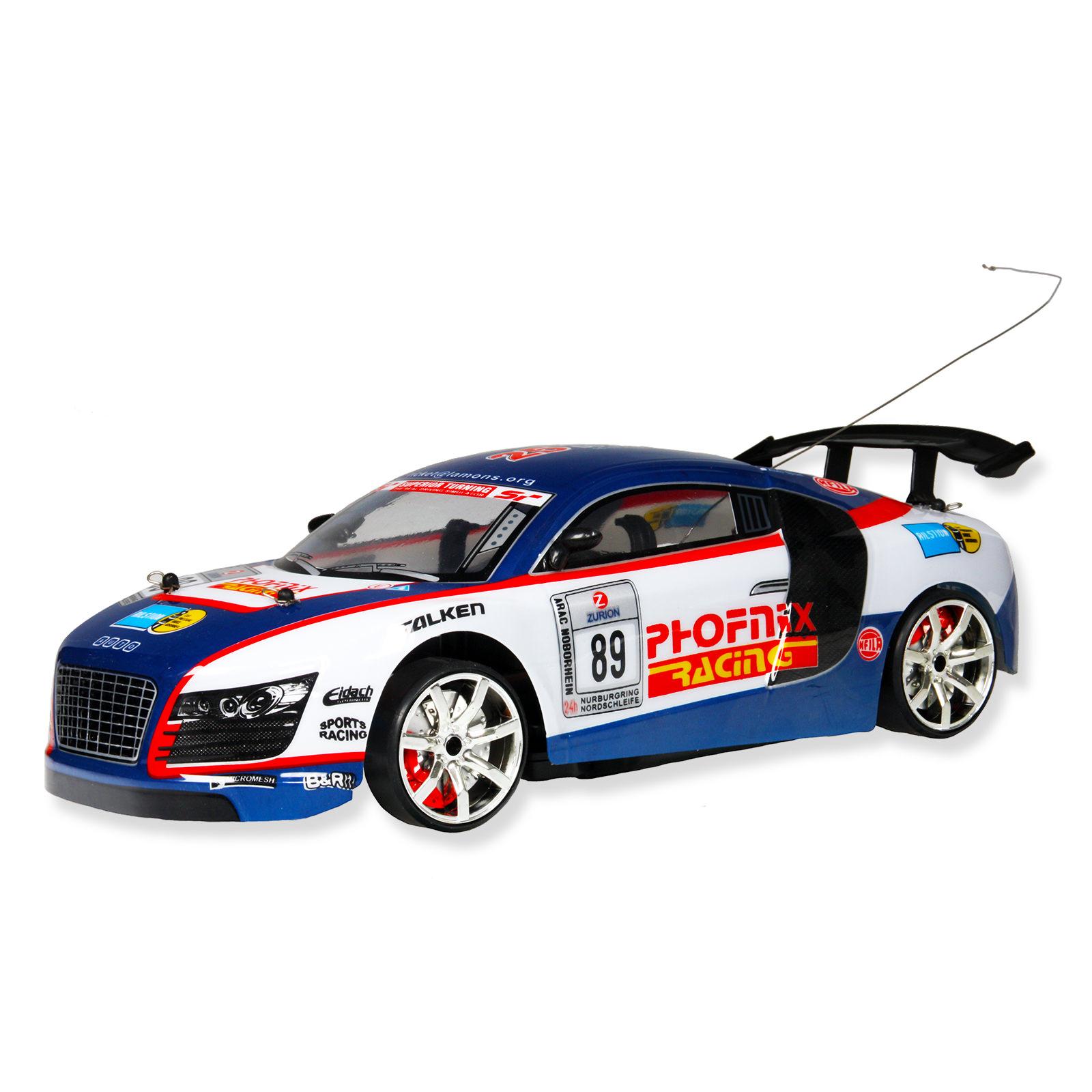 1 10 4wd Rc Drift Racing Car Blue At Hobby Warehouse