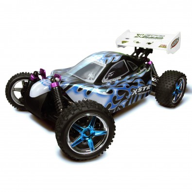 HSP 94107TOP-106MA2 1/10 Black 2.4Ghz Brushless 4WD Off Road RTR RC Buggy